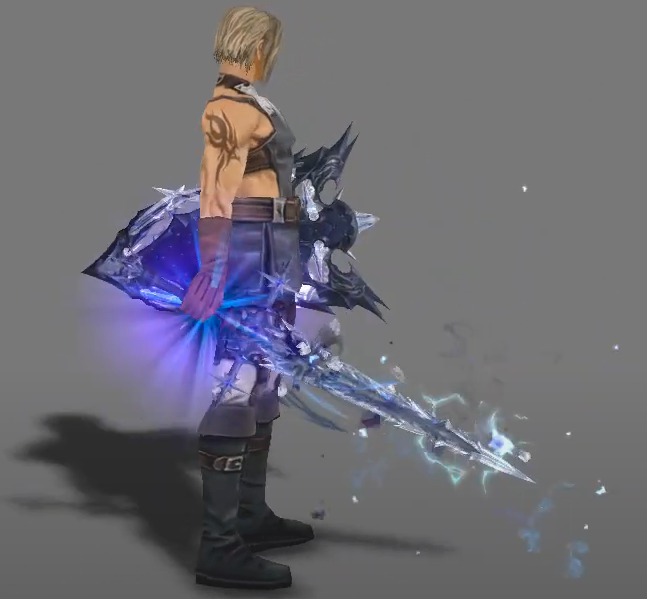 Ice Invoke Weapons H5_IL + effect